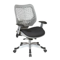 Office Star™ SPACE Revv Mesh Chair, Fog Gray/Raven