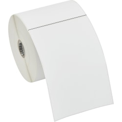 "Zebra Label Paper, U82580, 4"" x 6"" Direct Thermal Zebra Z™Select 4000D, 1"" Core"