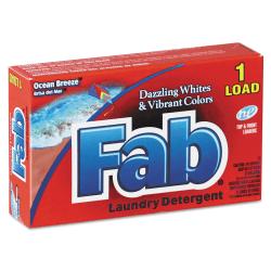 Fab® Dispenser-Design HE Laundry Detergent Powder, Ocean Breeze, 1 Oz