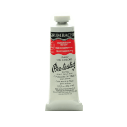 Grumbacher P027 Pre-Tested Artists' Oil Colors, 1.25 Oz, Cadmium Barium Red Light