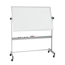 """Balt® Best Rite® Deluxe Non-Magnetic Dry-Erase Whiteboard, 48"""" x 72"""", Aluminum Frame With Silver Finish"""