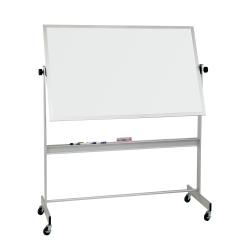 "Best-Rite Deluxe Dry-Erase White Board, Dura-Rite Surface, 48"" x 72"", White, Aluminum Trim Frame"
