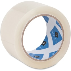 "Sparco Premium Heavy-duty Packaging Tape Roll - 1.88"" Width x 55 yd Length - 3"" Core - Acrylic Backing - Heavy Duty - 36 / Carton"