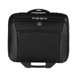 "Wenger® Potomac Double Gusset Wheeled Case For 17"" Laptop, Black"