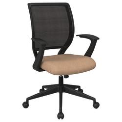 Office Star™ Work Smart Mesh Task Chair, Angora/Black