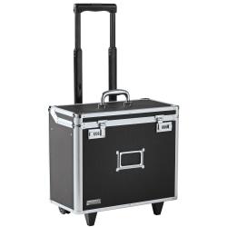 """Vaultz® Mobile Catalog Case, 13 1/2""""H x 16 3/4""""W x 9 3/4""""D, Black"""