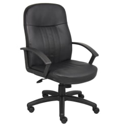 Boss Office Products Budget Mid-Back Chair, Black
