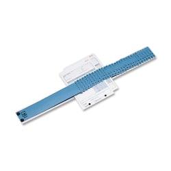 "C-Line® All-Purpose Sorter, 2 1/2"" x 23 1/2"" x 3/4"", Blue/Gray"