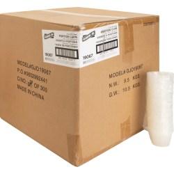 Genuine Joe Portion Cups - 4 fl oz - 2500 / Carton - Clear - Polystyrene - Beverage, Sauce
