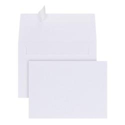 "Office Depot® Brand Photo Envelopes 4"" x 6"" Photos, Clean Seal, White, Box Of 50"