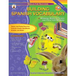 Carson-Dellosa Building Spanish Vocabulary