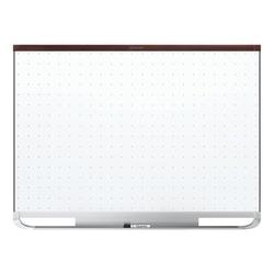 """Quartet® Prestige™ 2 Magnetic Total Erase® Dry-Erase Board, 48"""" x 72"""", Mahogany Wood Frame"""