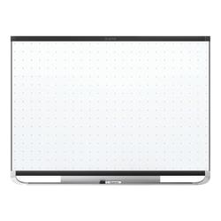 "Quartet® Prestige™ 2 Magnetic Total Erase® Dry-Erase Whiteboard, 96"" x 48"", Aluminum Frame With Black Finish"