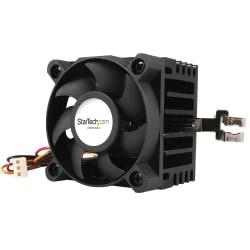 StarTech.com 50x50x41mm Socket 7/370 CPU Cooler Fan w/ Heatsink and TX3 and LP4 - 4500rpm 1 x Ball Bearing