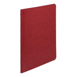 "ACCO® Presstex® Binder, Side Bound, 11"" x 8 1/2"", 60% Recycled, Executive Red"
