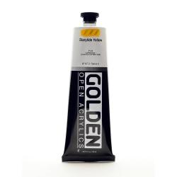 Golden OPEN Acrylic Paint, 5 Oz Tube, Diarylide Yellow