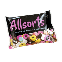 Allsorts Gourmet English Licorice, 14.1 Oz, Pack Of 3