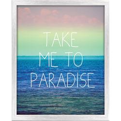 """PTM Images Framed Art, Paradise, 20 1/2""""H x 17 1/2""""W"""