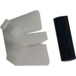 Plantronics Eyeglass Clip Kit - Plastic - Black, White