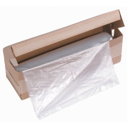 Ativa™ Shredder Bags For 270/381/390/401/412 Series, 1-mil, Box Of 100 Bags