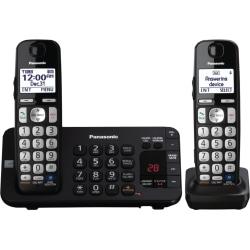 Panasonic KX-TGE243B Expandable Digital Cordless Answering System with 3 Handsets