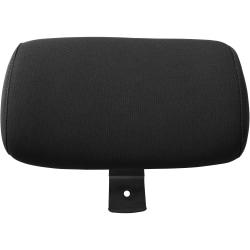 Lorell® Serenity Series Executive Multifunction High-Back Chair Headrest, Fabric, Black