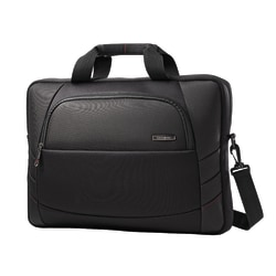 "Samsonite® Xenon 2 Slim Briefcase Laptop Bag For Laptops Up To 17.3"", Black"