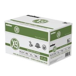 "Boise® X-9® Multi-Use Copy Paper, Letter Size (8 1/2"" x 11""), 92 (U.S.) Brightness, 20 Lb, White, 500 Sheets Per Ream, Case Of 10 Reams"