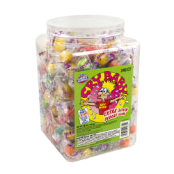 Cry Baby Extra-Sour Bubble Gum, Assorted, 35.2 Oz Tub