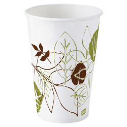 Dixie® Paper Cold Cups, 12 Oz., Pathways, Carton Of 1200