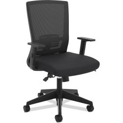 basyx by HON® Mesh High-Back Office Chair, Black