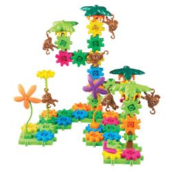 Learning Resources® Gears! Gears! Gears!® Movin' Monkeys™ Building Set, Pre-K - Grade 2