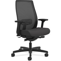 HON® Endorse® Mesh Mid-Back Chair, Black