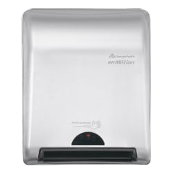 "GP PRO enMotion® 8"" Recessed Automated Touchless Paper Towel Dispenser, Silver"