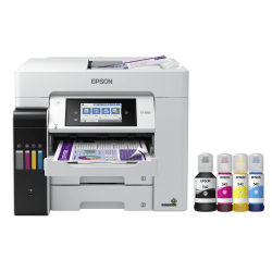 Epson® Expression ET-2650 EcoTank Wireless Inkjet All-In-One Color Printer