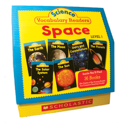 Scholastic Science Vocabulary Readers: Space