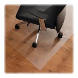"Floortex Cleartex XXL Ultmat Polycarbonate Chair Mat For Hard Floors/Low-Pile Carpet, 118"" x 60"", Clear"