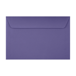 """LUX Booklet Envelopes With Moisture Closure, #6 1/2, 6"""" x 9"""", Wisteria, Pack Of 500"""