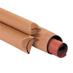 "Office Depot® Brand Kraft Crimped-End Mailing Tubes, 1 1/2"" x 9"", Pack Of 70"