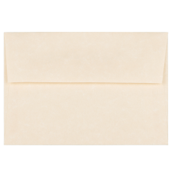 """JAM Paper® Booklet Envelopes With Gummed Closure (Recycled), 4 Bar A1, 3 5/8"""" x 5 1/8"""", 30% Recycled, Natural, Pack Of 25"""