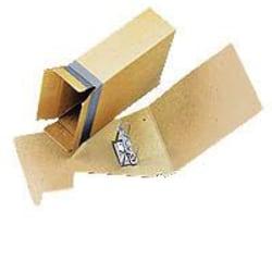"Globe Weis® Columbia 100% Recycled Binding Case, 3 9/10"" x 2 1/2"" x 12 9/10"", Brown"