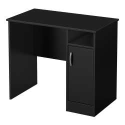 South Shore Axess Small Desk, Black