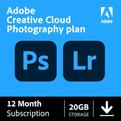 Adobe® Creative Cloud® Photography Plan, Download