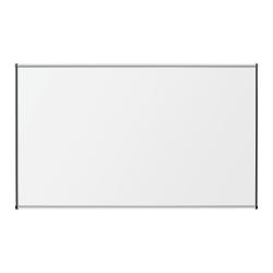 """Lorell® Porcelain Unframed Dry-Erase Whiteboard, 48"""" x 72"""", Satin Aluminum Frame"""