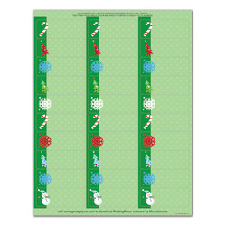 """Great Papers!® Holiday Address Labels, 2011598, 2 5/8"""" x 1"""", Cheery Snowman, Pack Of 150"""