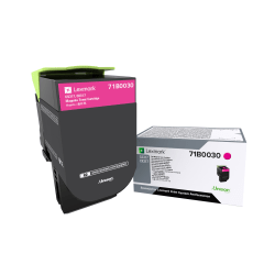 Lexmark™ 71B0030 Magenta Toner Cartridge