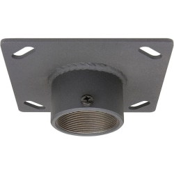 """Premier Mounts 6"""" x 6"""" Ceiling Mounting Plate with 2"""" Coupling"""