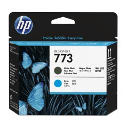 HP 773 (C1Q20A) Matte Black/Cyan Printhead