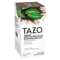 Tazo® Awake Tea Bags, 8 Oz, Box Of 24