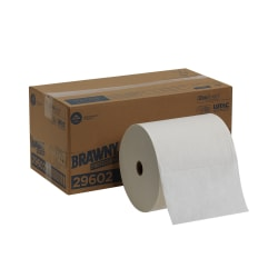 Brawny® Professional by GP PRO F900 Pick-A-Size® Long Distance Disposable Cleaning 1-Ply Paper Towels, 690 Sheets Per Roll, Pack Of 2 Rolls